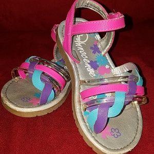 Toddler girls sandals. Size 9.